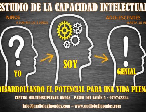 Estudio de la capacidad intelectual